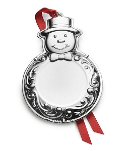 Wallace 2018 Engravable Ornament, (Snowman) 6th Edition