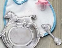 Arthur Court Keepsake Set - Rocking Horse