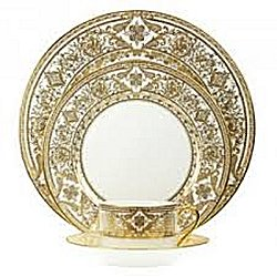 Haviland MATIGNON WHITE AND GOLD