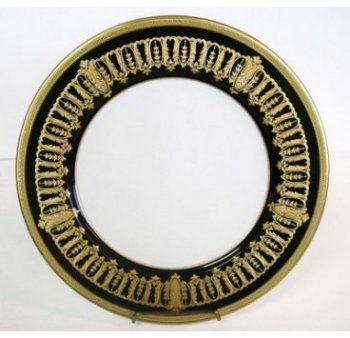 Haviland ST HONORE BLACK AND GOLD