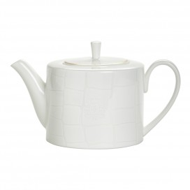 Prouna Alligator White TeaPot