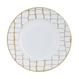 Prouna Alligator Gold Dinner Plate Crystals