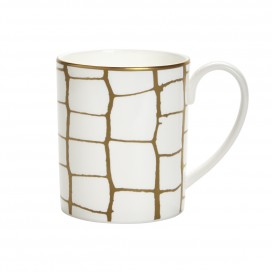 Prouna Alligator Gold Mug