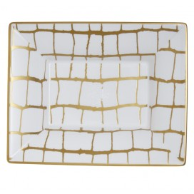 Prouna Alligator Gold Vide Poche/ Jewelry Tray