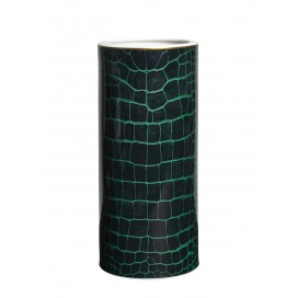 Prouna Alligator Colors Emerald Tall Vase