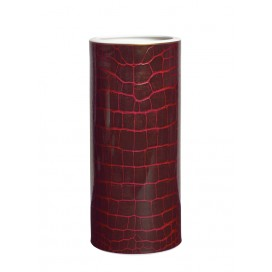 Prouna Alligator Colors Ruby Tall Vase