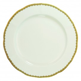 Prouna Antique Gold Dinner Plate