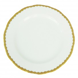 Prouna Antique Gold Salad / Dessert Plate