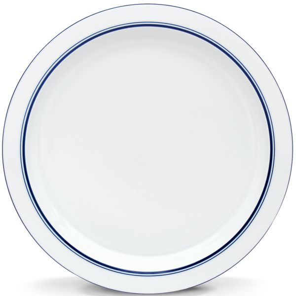 Dansk CHRISTIANSHAVN BLUE DW ROUND PLATTER