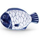 Dansk Arabesque blue white DW SMALL FISH PLATTER