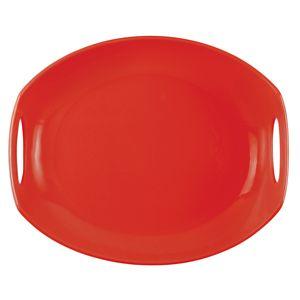 Dansk CLASSIC FJORD CHILI RED DW PLATTER
