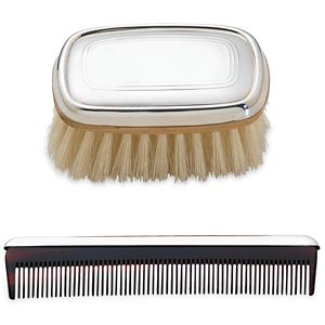 REED AND BARTON PERSONALIZED KENT BOYS BRUSH AND COMB SET