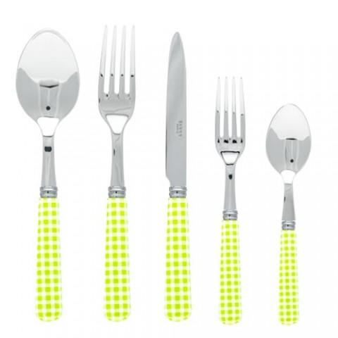 Sabre Gingham Lime