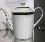 Bernardaud Retired Madison Platinum Coffee Pot