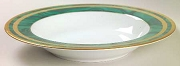Christian Dior China Gaudron Malachite Rim Soup