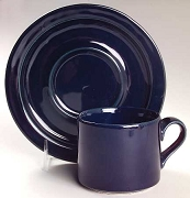 Dansk China Bisserup Blue Saucer