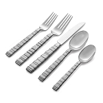 Michael Aram Stainless Gotham 5 Piece Place Setting