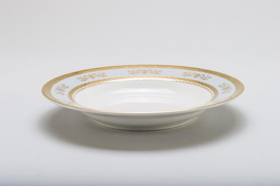 Philippe Deshoulieres Orsay powder blue pasta bowl