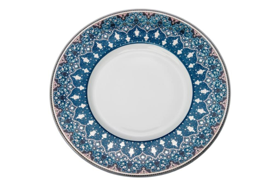 Philippe Deshoulieres Dhara Peacock dessert plate