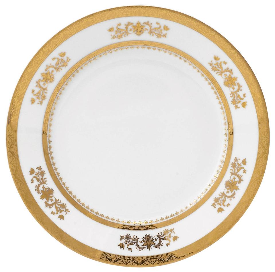 Philippe Deshoulieres Orsay white dessert plate
