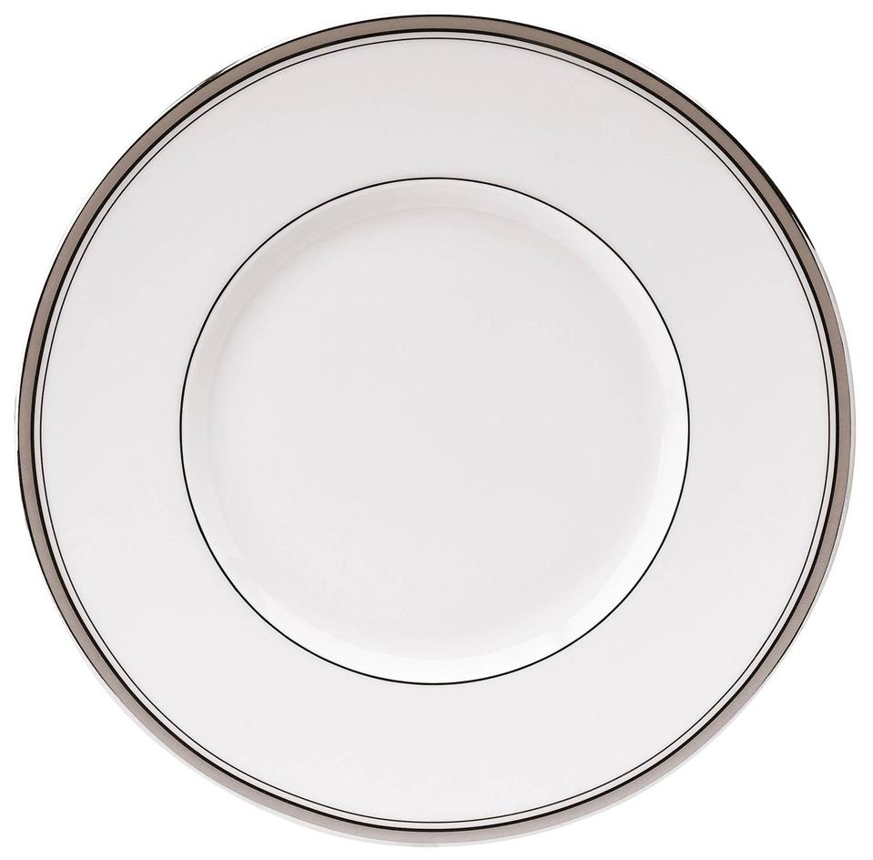 Philippe Deshoulieres Excellence grey dinner plate large rim
