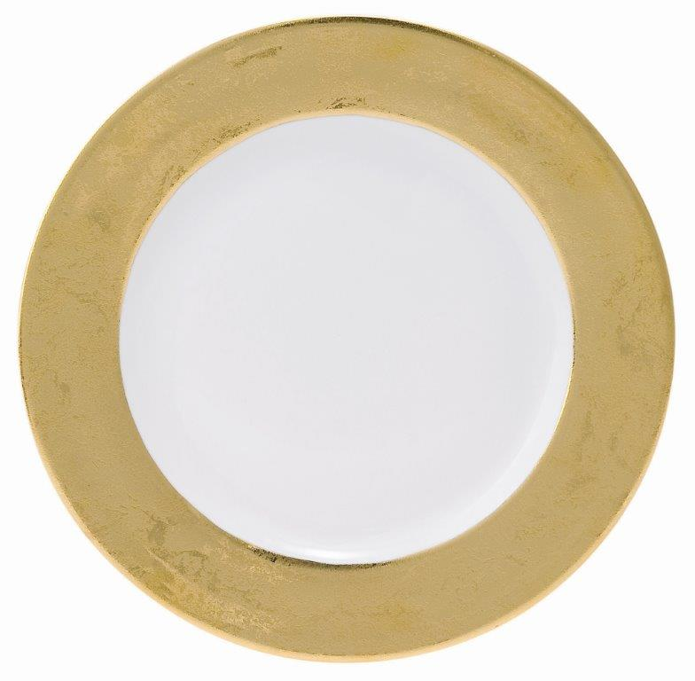 Philippe Deshoulieres Carat gold dinner plate