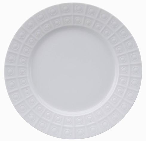 Philippe Deshoulieres Osmose extra white dinner plate large rim