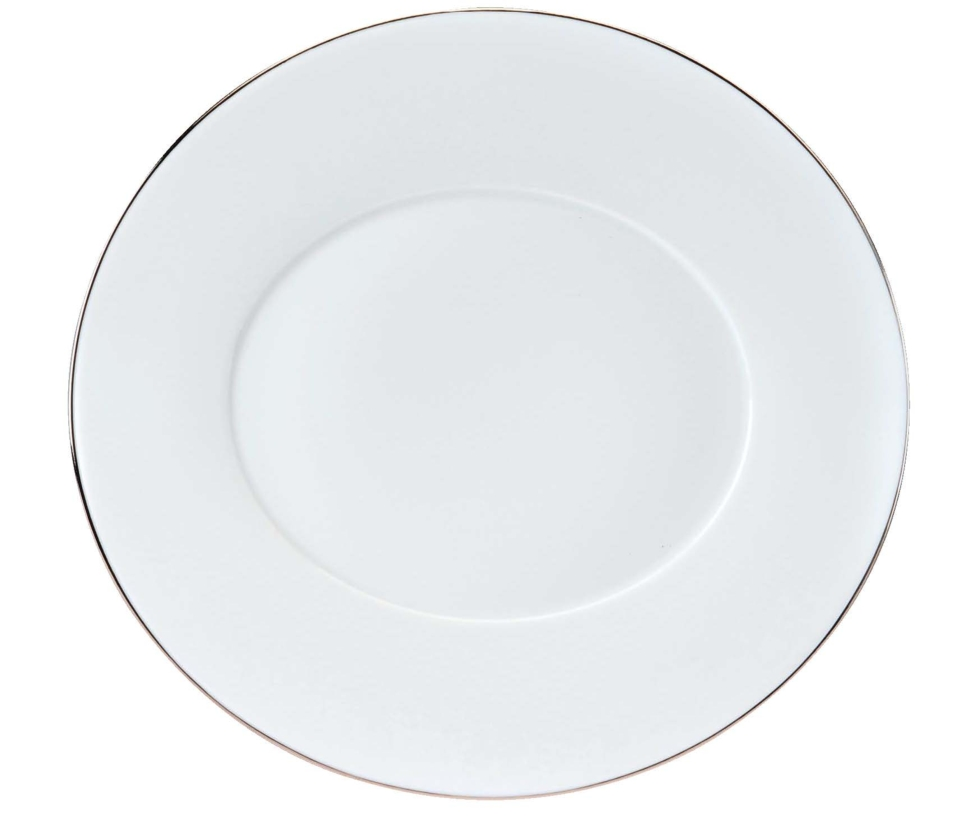 Philippe Deshoulieres Epure platinum filet Dinner plate
