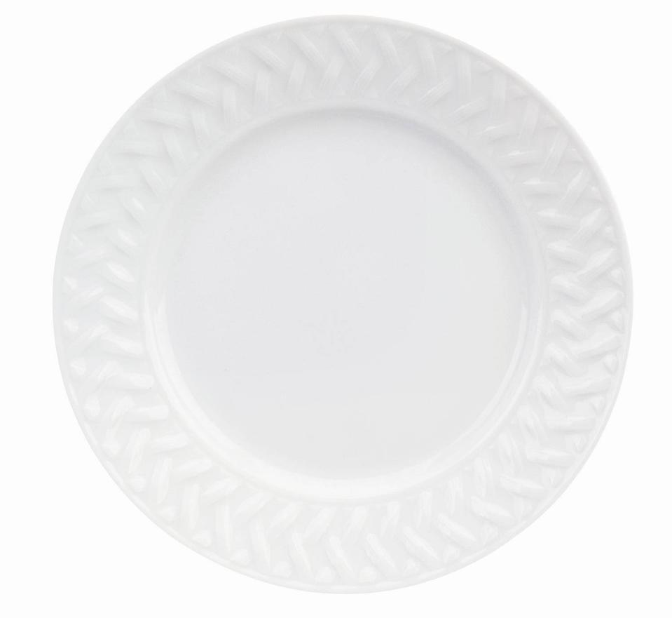 Philippe Deshoulieres Louisiane extra white bread&butter plate