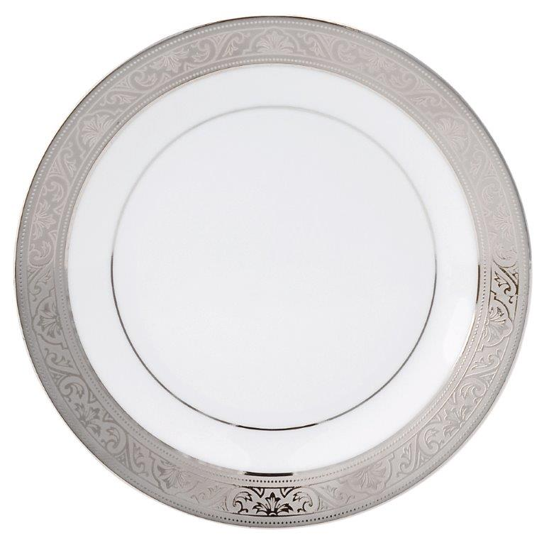 Philippe Deshoulieres Trianon platinum bread & butter plate