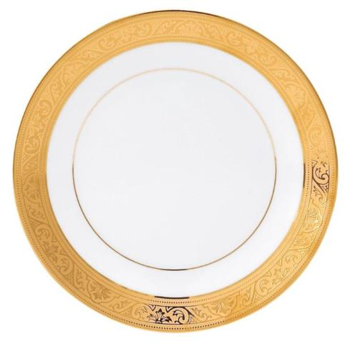 Philippe Deshoulieres Trianon gold bread & butter plate