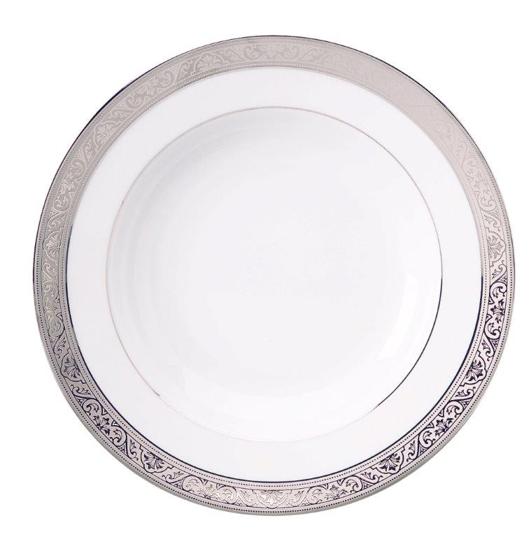 Philippe Deshoulieres Trianon platinum serving plate