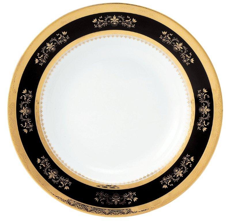 Philippe Deshoulieres Orsay black serving plate