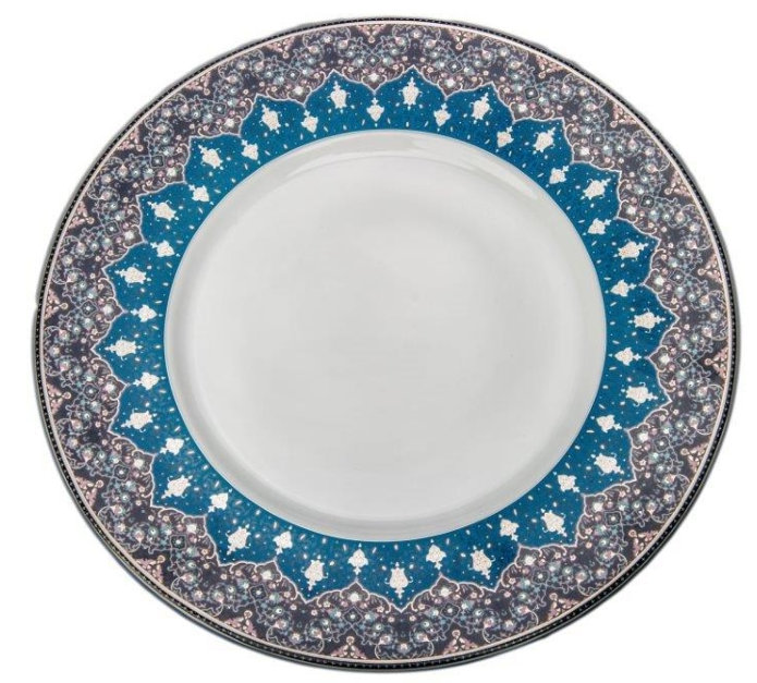 Philippe Deshoulieres Dhara Peacock presentation plate