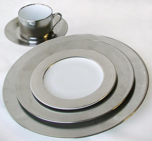 Philippe Deshoulieres Carat platinum serving plate large