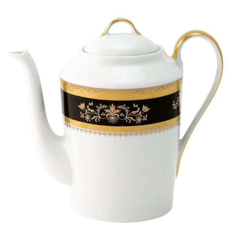 Philippe Deshoulieres Orsay black coffee pot