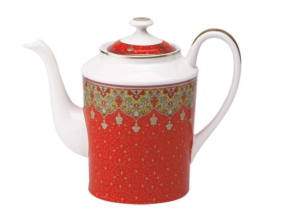 Philippe Deshoulieres Dhara red coffee pot