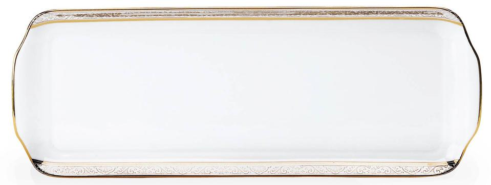 Philippe Deshoulieres Orleans rectangular cake platter