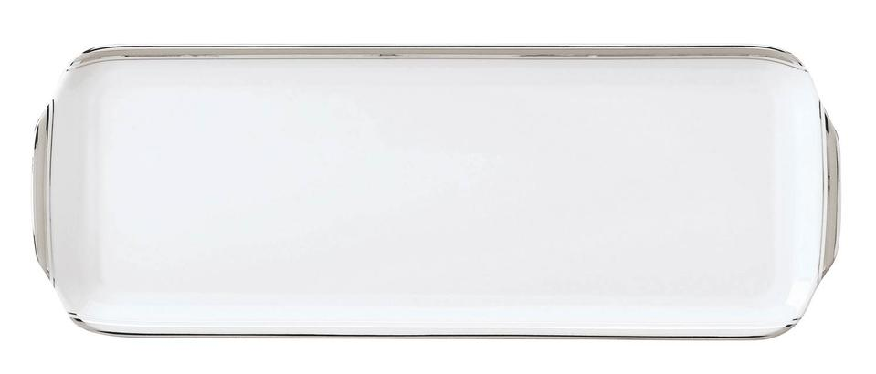 Philippe Deshoulieres Excellence grey rectangular cake platter