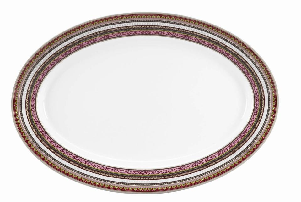Philippe Deshoulieres Ispahan oval platter
