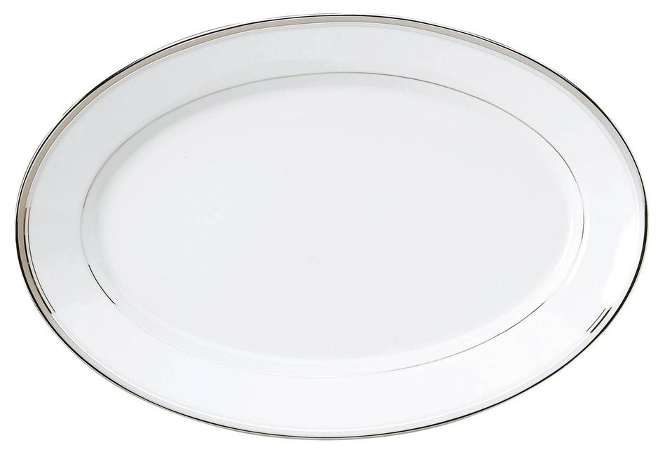 Philippe Deshoulieres Excellence grey oval platter