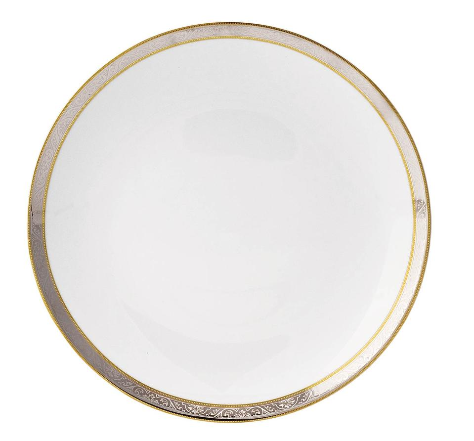 Philippe Deshoulieres Orleans round cake platter