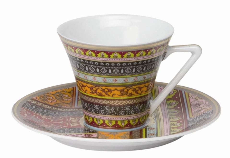 Philippe Deshoulieres Ispahan coffee saucer