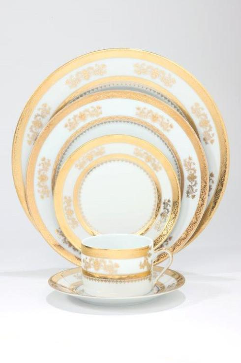 Philippe Deshoulieres Orsay white breakfast saucer