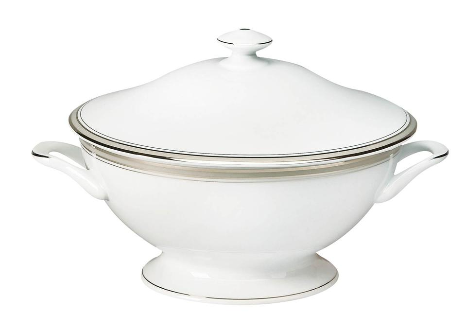Philippe Deshoulieres Excellence grey footed soup tureen