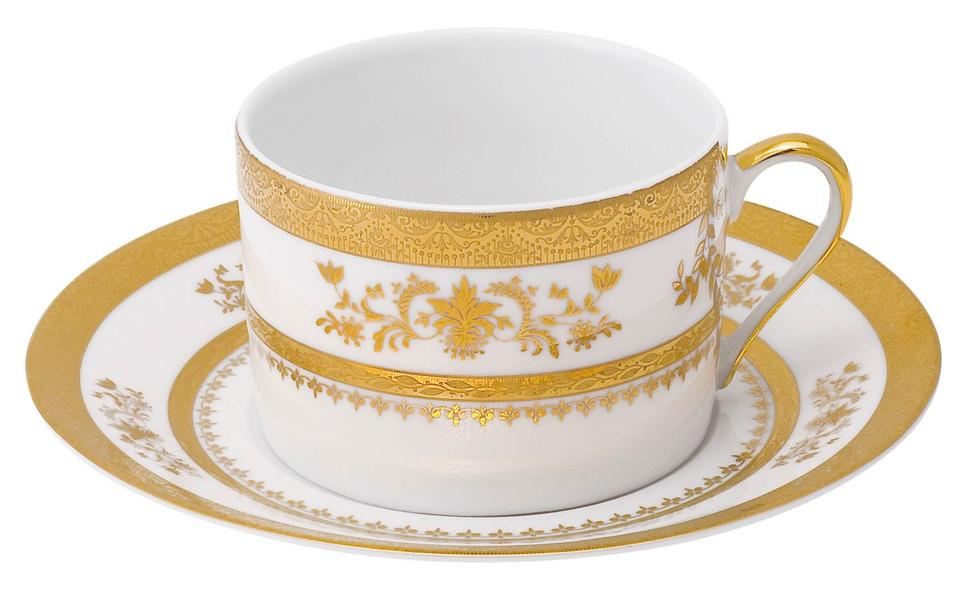 Philippe Deshoulieres Orsay white tea saucer