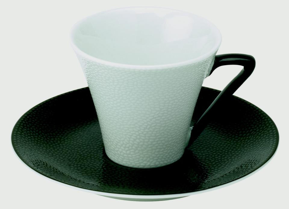 Philippe Deshoulieres Seychelles black coffee cup