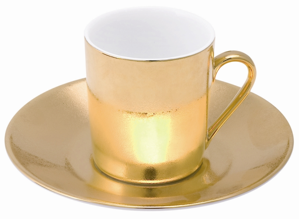 Philippe Deshoulieres Carat gold coffee cup