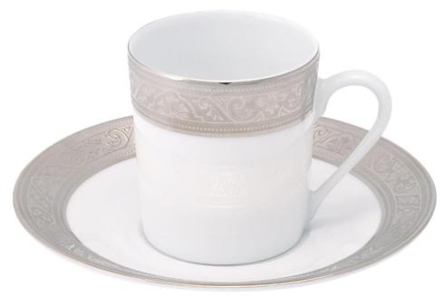 Philippe Deshoulieres Trianon platinum coffee cup