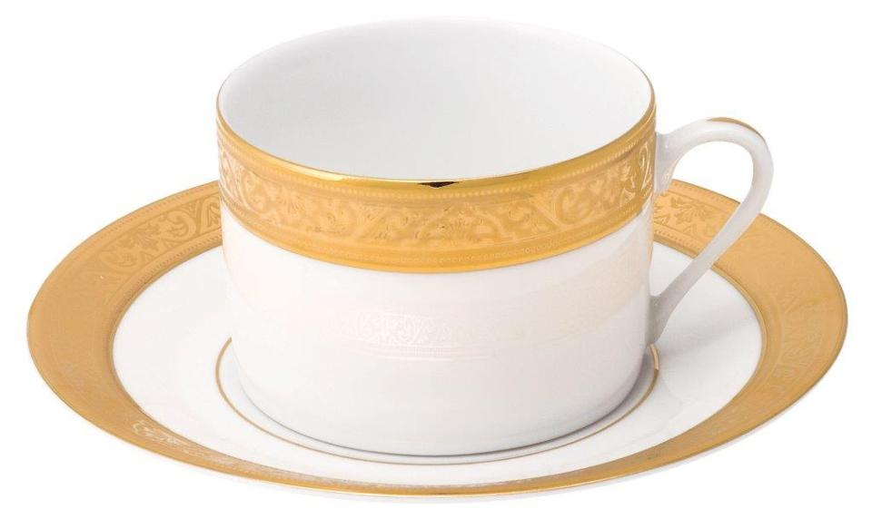 Philippe Deshoulieres Trianon gold tea cup